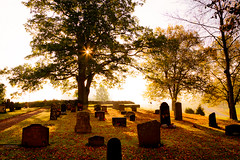 Life is life (Mauritzson Foto) Tags: morning autumn sun sunlight sol cemetery graveyard shadows sweden tombstone autumncolors holy gravestone churchyard sverige hst srmland morgon dunker gravsten kyrkogrd skuggor sdermanland solsken hstfrger swedishcemetery heligt fotosondag fotosndag fs111002