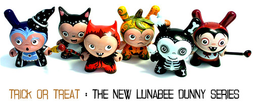 'Trick or Treat' : New Lunabee Dunny Series