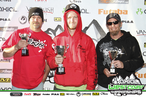 AWCC FINALS 2011 2.2 PRO COMP CHAMPIONS Brian Lorenz, Brad Dumont, Don French