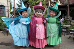 Meeting Merryweather, Flora and Fauna