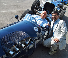 Sir Stirling Moss (Swamibu) Tags: festival speed moss stirling racing driver sir goodwood 2011 farrukh