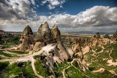 Cappadocia, Turkey (Nejdet Duzen) Tags: trip travel mountain nature turkey view trkiye cappadocia greme da manzara kapadokya rgp turkei seyahat doa saariysqualitypictures mygearandme