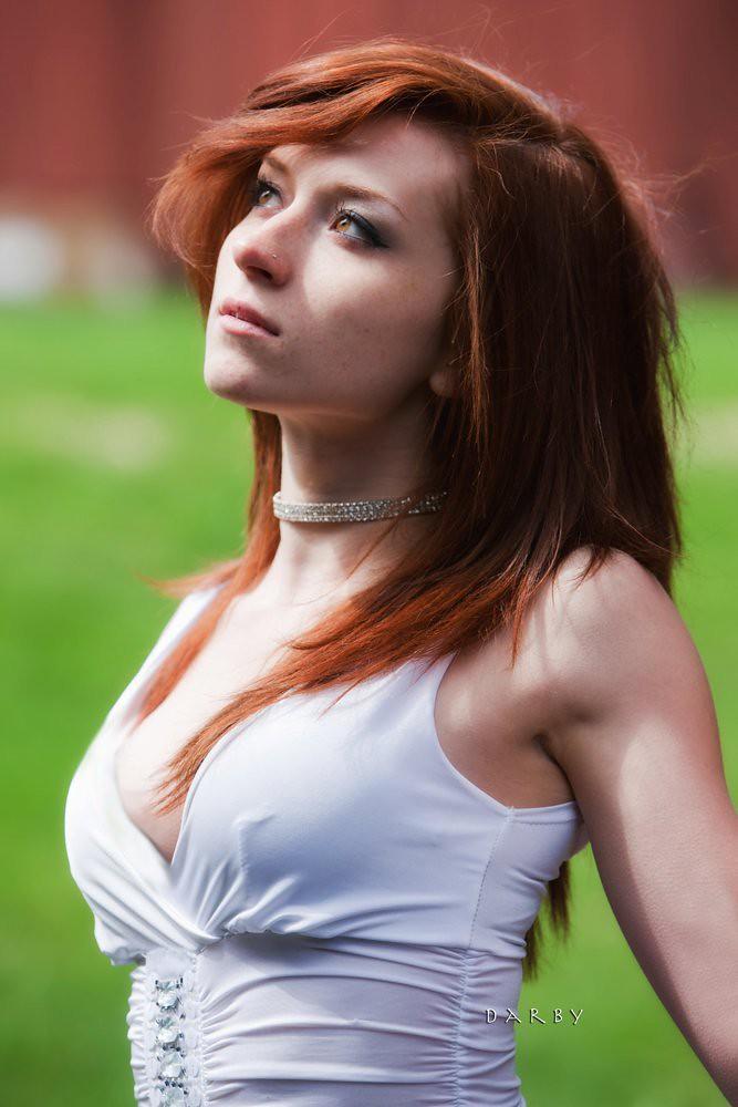 Ready help rose redhead model think