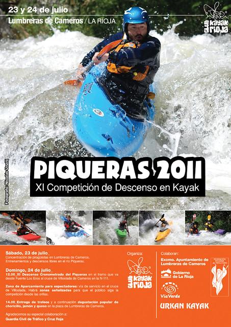 XI Competición de Descenso en Kayak Piqueras 2011