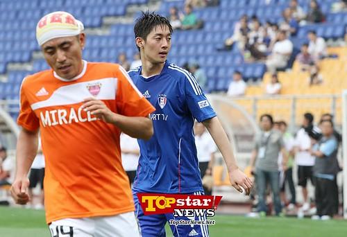 Kim Hyun Joong FCMen Soccer Match [110702]