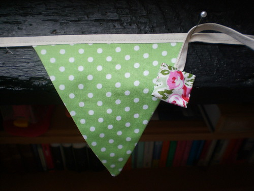 A little bit of bunting for someone else