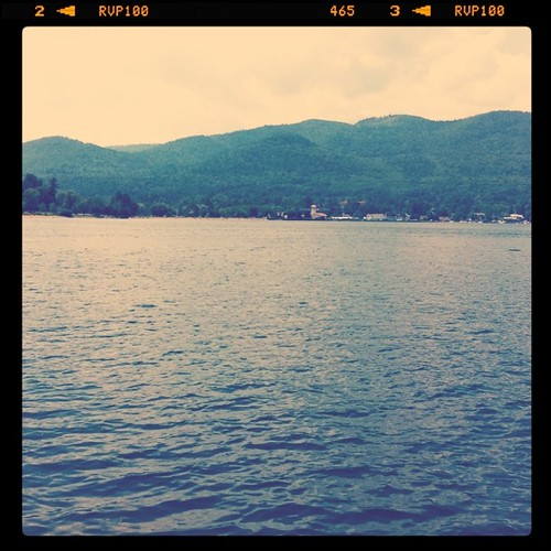 Enjoying Lake George