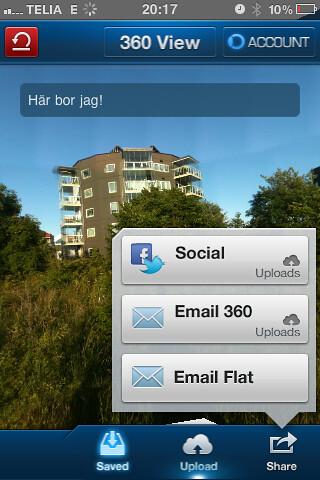 360 Panorama - enkelt att dela