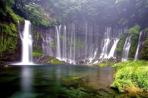 フリー写真素材, 自然・風景, 滝, 森林,