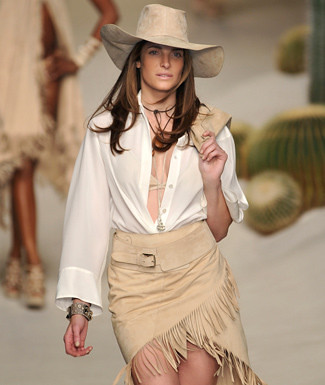 estilo country feminino 2012