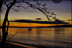 Sunset at Corlette Point (Chris Chafer Thanks for 1.5M views & comments) Tags: sunset nsw portstephens