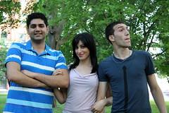 the three iranians (matryosha) Tags: friends portrait boys girl persian iranian