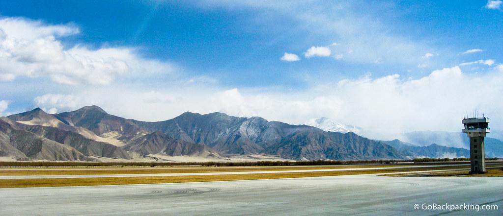 Lhasa Gonggar Airport