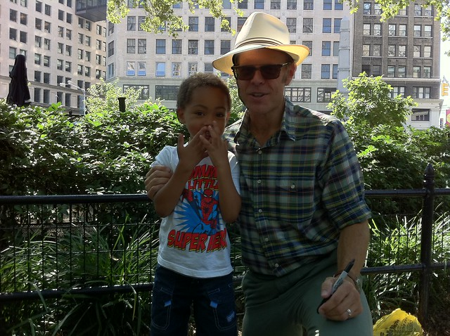 Benjamin and Alton Brown