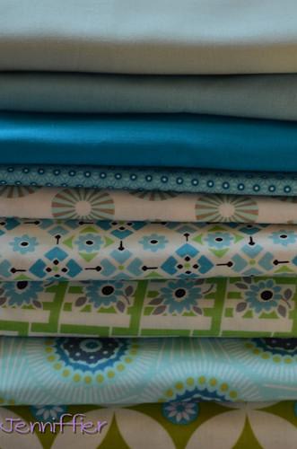 4x5 modern quilt bee fabric?