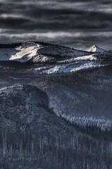 dawn landscape (photoacumen) Tags: yosemite hdr glacierpoint photomatixpro blackwhitephotos mygearandme mygearandmepremium mygearandmebronze mygearandmesilver pse9 flickrstruereflection1