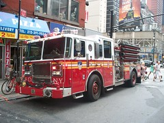 FDNY - Engine 1 - 7-11-11 (FDNY8231) Tags: new york city nyc rescue usa ny tower truck fire 1 4 rear 911 engine nypd aerial mount company mat ferrara ladder emergency firefighter 54 fdny department siren tiller dept seagrave response haz kfd responding code3 sfb mcfd ctfd hd77