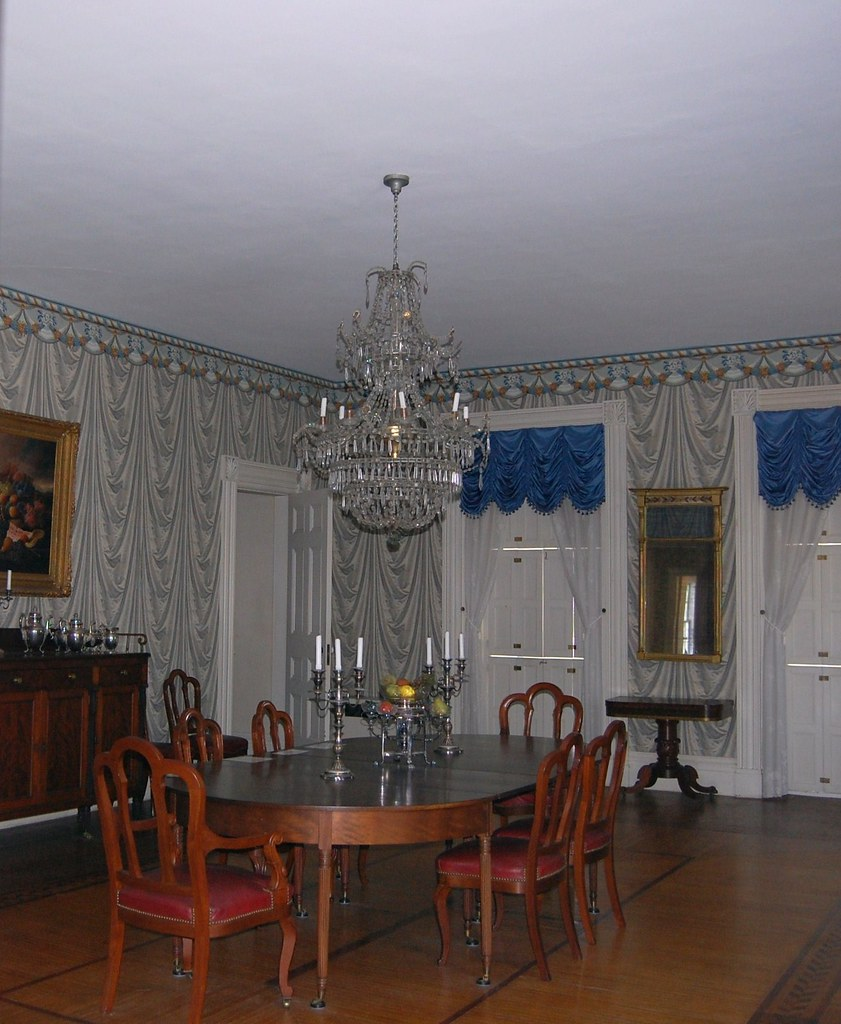 Rose Hill Mansion - The Banquet Room