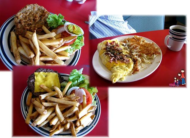 Food at Starlite Diner, Little Rock, Arkansas