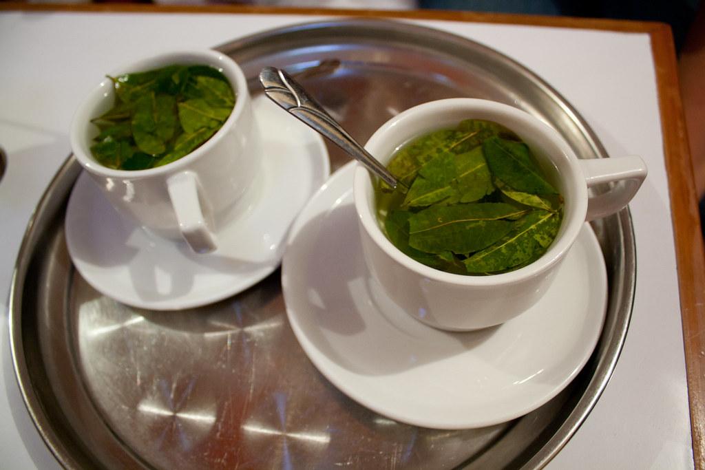 Chá de coca, em Cusco, Peru