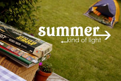 summer kind of light