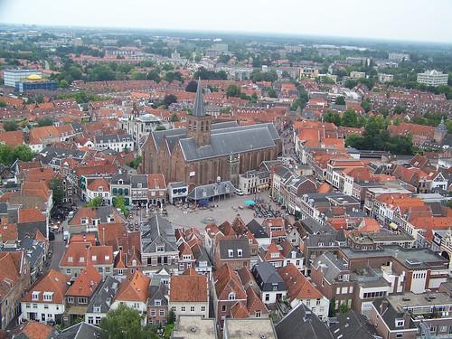 Amersfoort from the Onze Lieve Vrouwetoren