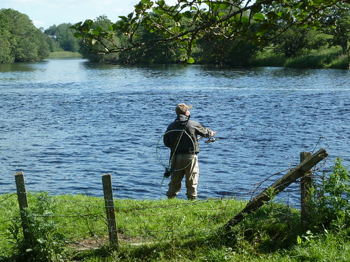 Fishing River Spey