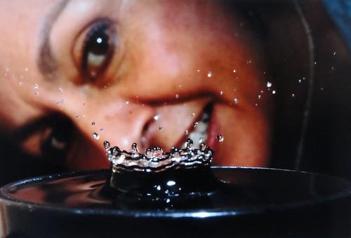 Gota de Agua- Exhibición en el Exploratorium