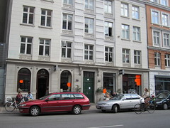 Istedgade in Copenhagen (La Citta Vita) Tags: copenhagen denmark cycling apartments neighborhood trendy storefront vesterbro streetscape offices istedgade mixeduse localbusiness creativeclass bikefriendly groundfloorretail housingabove newartsdistrict newcreativecluster motheronabicycle