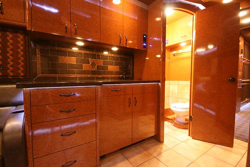 Hurricane - Galley and Bathroom