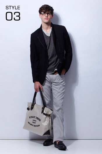 Robert Rae0125_23区 HOMME 2011 Spring & Summer Collection