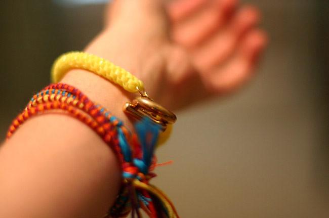 Fluorescent and Friendship Bracelets, Fashion