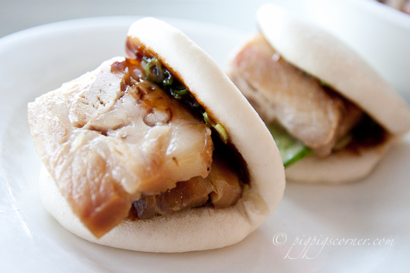 Momofuku Ssäm Bar, New York pork bun