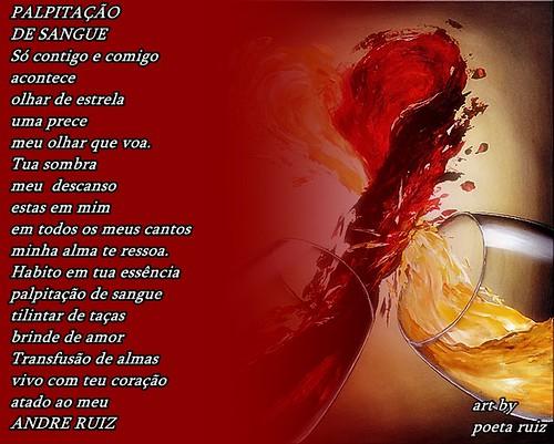 PALPITAÇÃO DE SANGUE by amigos do poeta