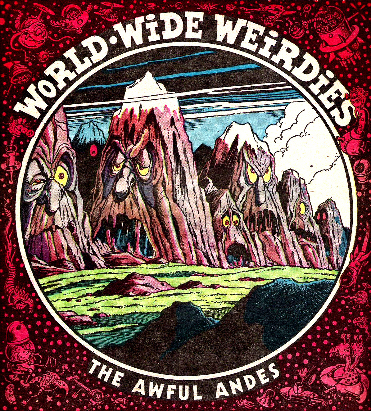 Ken Reid - World Wide Weirdies 80