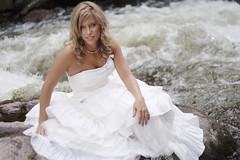 [フリー画像] 人物, 女性, ドレス, ウエディングドレス, 201108060900