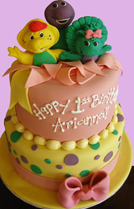 Barney and Friends Birthday Custom
