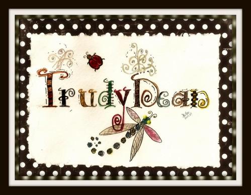 Card - Bday TrudyDean Zen by BeverlyDiane