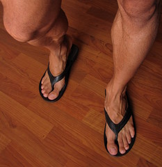 Gay male foot fetish