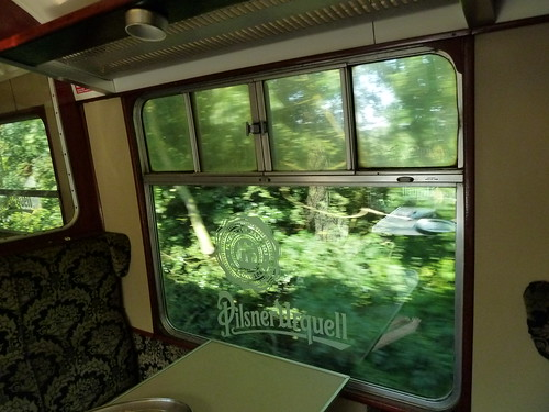 Through the 'greens' -  The Pilsner Urquell Express to the British Open 2011