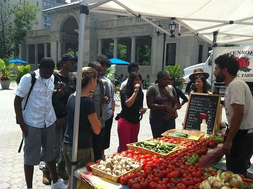 LTS - Green Market visit