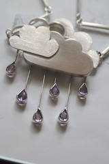 "necklace ""purple rain"" (vikafogallery) Tags:"