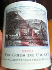 2010 Bonny Doon Vin Gris de Cigare