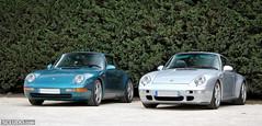 DUO Porsche 993 : Carrera 2 & 4S (Ludovic (SCLUDO.com)) Tags: 2 paris cars car sport duo 4 911 s exotic porsche spotted supercar 4s carrera sportscars exotics supercars combo sighting 993 sportcars exoticscars scludo scludocom