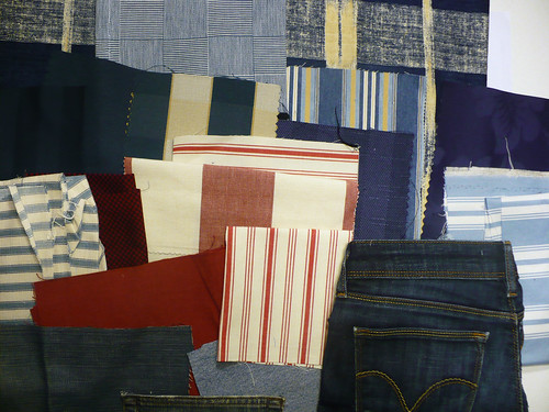Possible materials for the next denim quilt