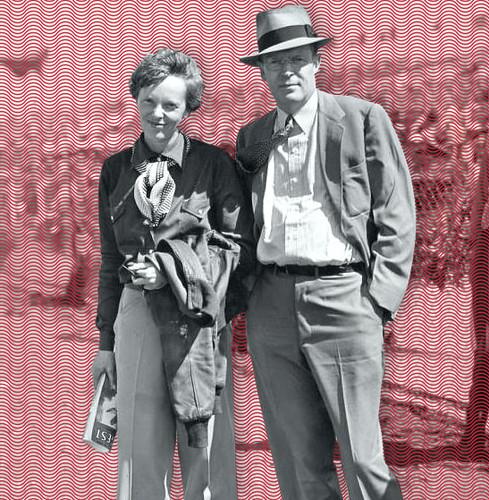 Amelia Earhart and George Putnam