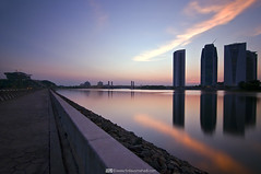 In Transition (Firdaus Mahadi) Tags: light sunset sky sun landscape evening scenery islam malaysia putrajaya islamic senja cahaya pemandangan   petang  maghrib       nd1000  sunspike    manfrotto055xprob firdausmahadi firdaus