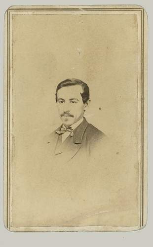 CDV Man with bow