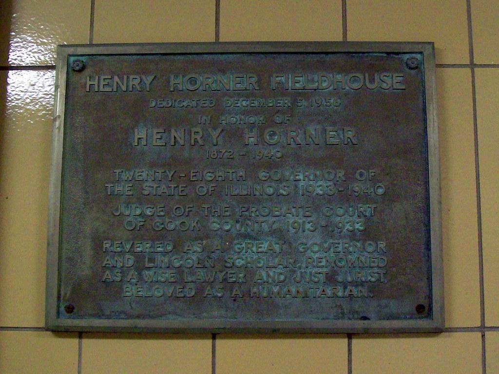 Henry Horner Fieldhouse Marker