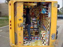 Beautiful Losers (Visual Chaos) Tags: streetart sticker twist barrymcgee woostercollective deliverytruck amaze foodtruck zoer beautifullosers ocma costamesagraffiti zoerscicrew